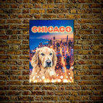 'Doggos Of Chicago' Personalized Pet Poster