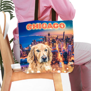'Doggos of Chicago' Personalized Tote Bag
