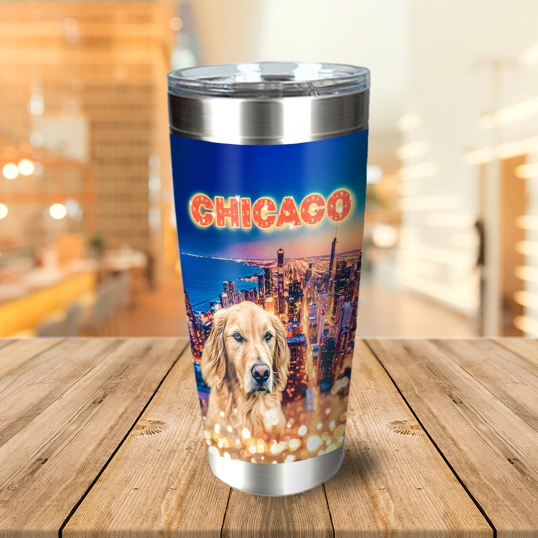 'Doggos Of Chicago' Personalized Tumbler