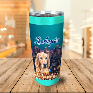 'Doggos of Los Angeles' Personalized Tumbler