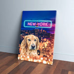 'Doggos of New York' Personalized Pet Canvas