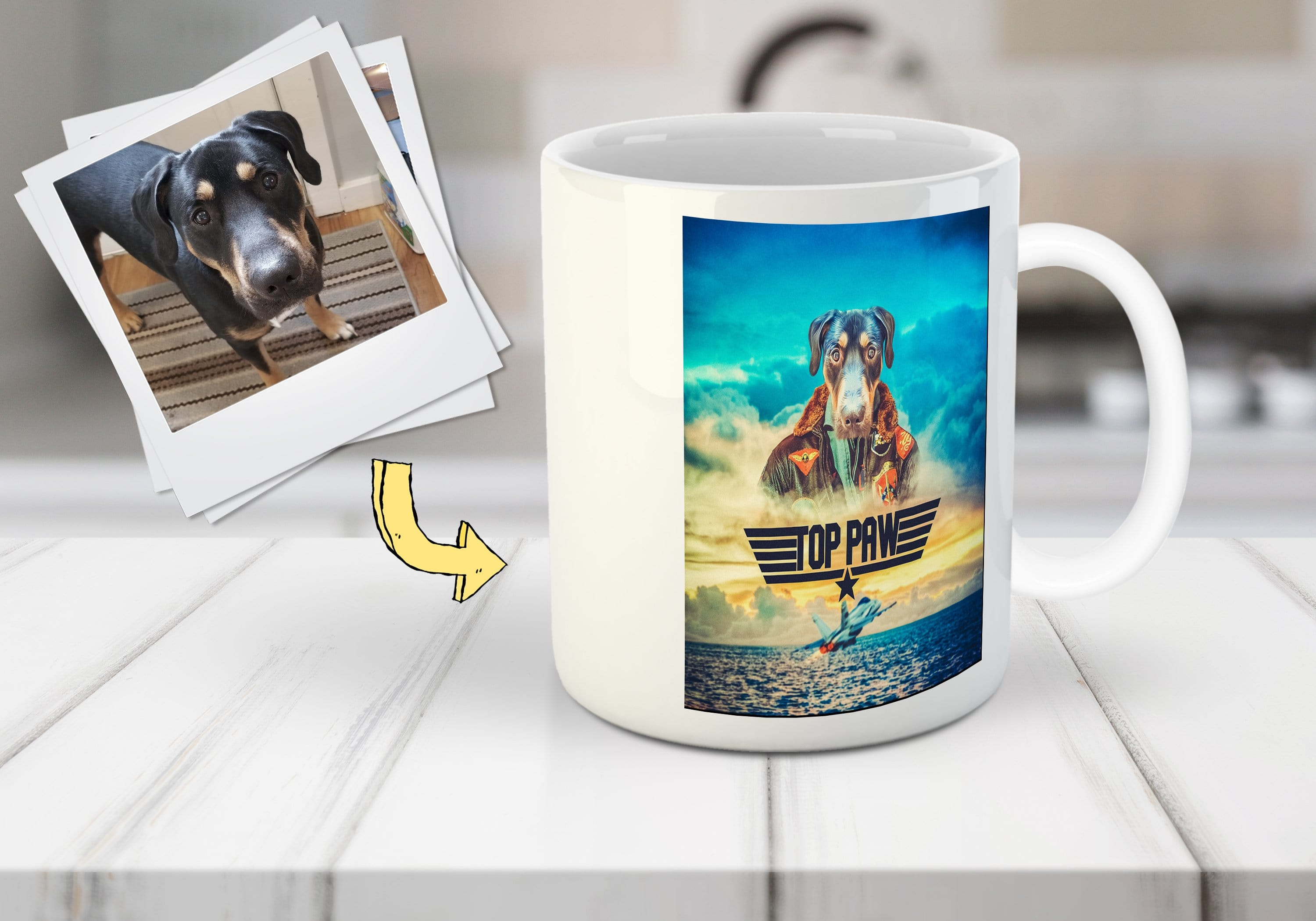 Top Paw: Personalized Mug