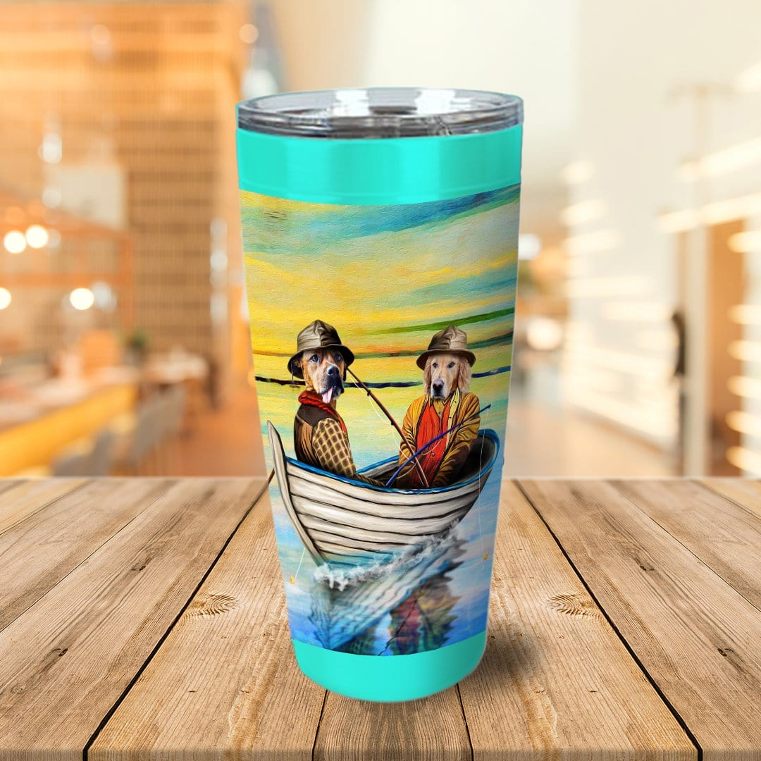 'The Fishermen' Personalized 2 Pet Tumbler