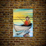 'The Fisherman' Personalized Pet Poster