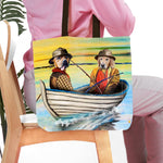 'The Fishermen' Personalized 2 Pet Tote Bag