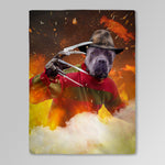 'Freddy Woofer' Personalized Pet Blanket