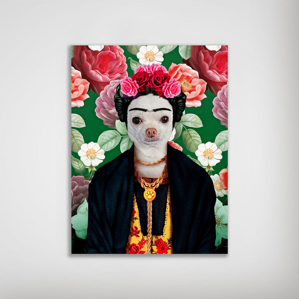 'Frida Doggo' Personalized Poster