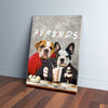 'Furends' Personalized 2 Pet Canvas