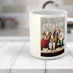 'Furends' Personalized 4 Pet Mug