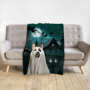 'The Ghost' Personalized Pet Blanket