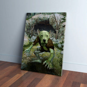 'The Goblin' Personalized Pet Canvas