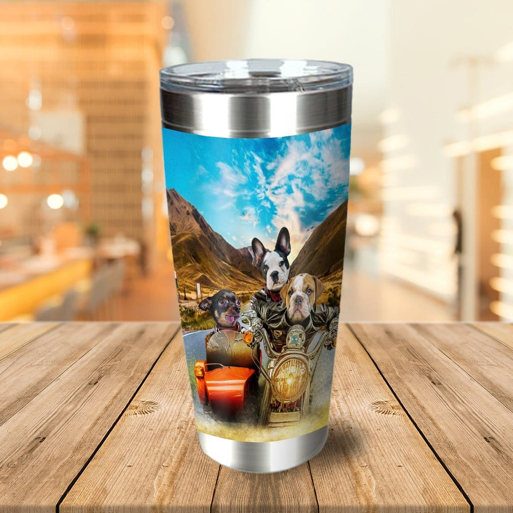 Harley Wooferson Personalized 3 Pet Tumbler