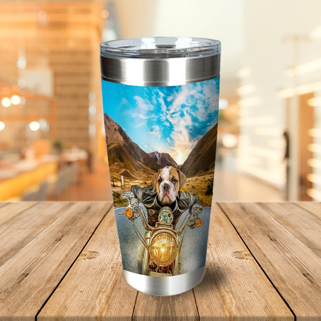 'Harley Wooferson' Personalized Tumbler