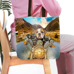 'Harley Wooferson' Personalized Tote Bag