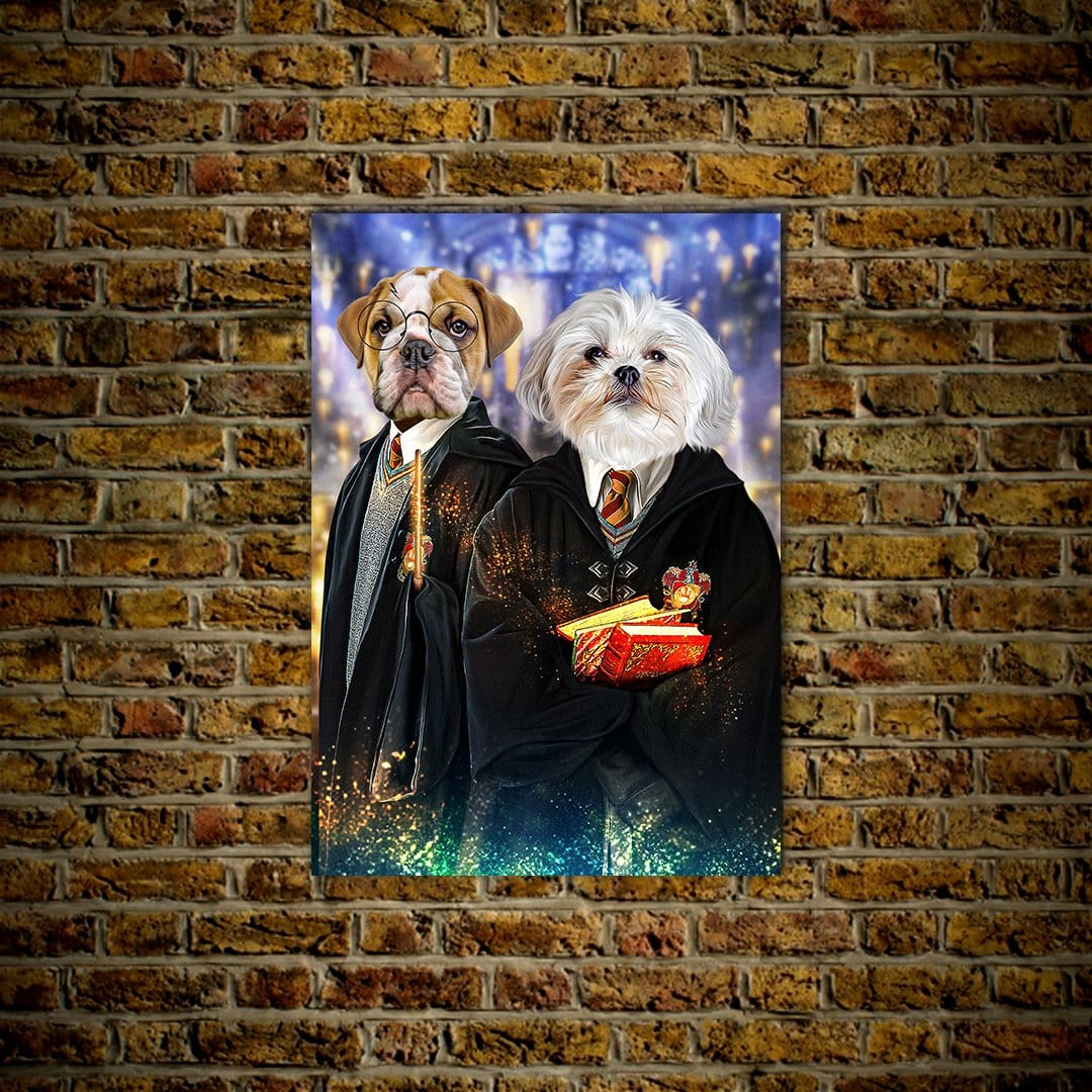 'Harry Doggers 2' Personalized 2 Pet Poster
