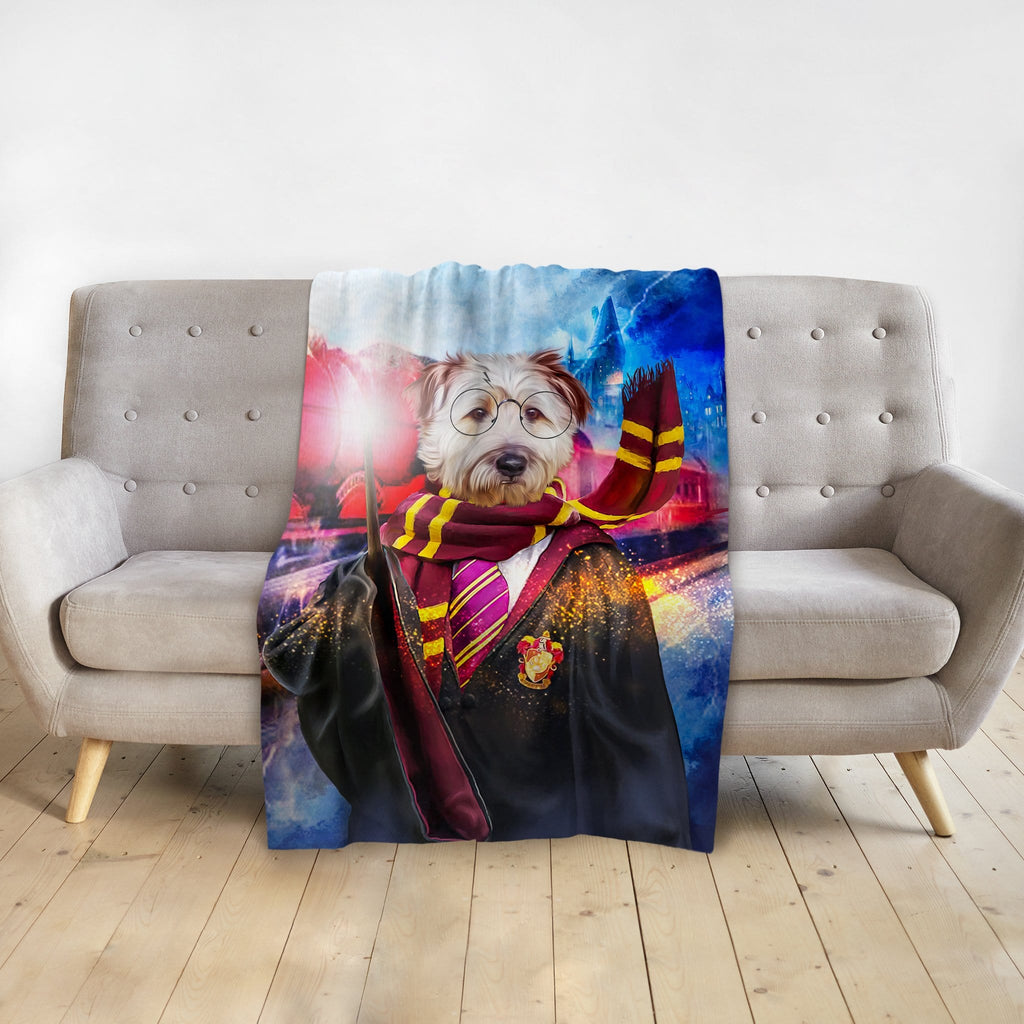 'Harry Dogger' Personalized Pet Blanket