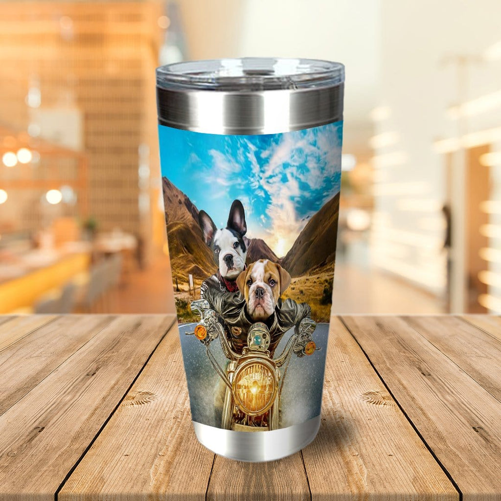 Harley Wooferson Personalized 2 Pet Tumbler