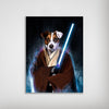 'Doggo-Jedi' Personalized Dog Poster