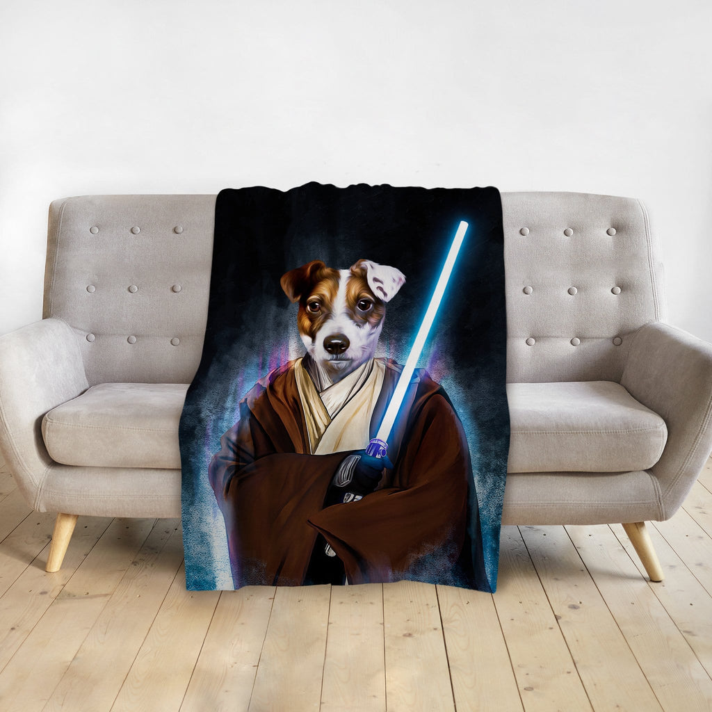 'Doggo-Jedi' Personalized Pet Blanket