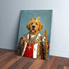 'The King' Personalized Pet Canvas
