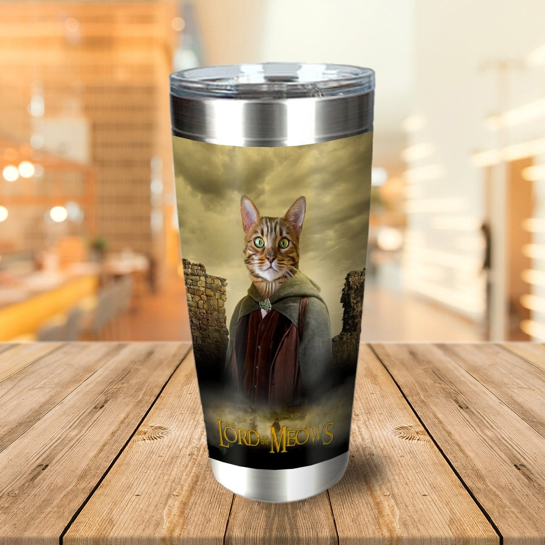 'Lord Of The Meows' Personalized Tumbler