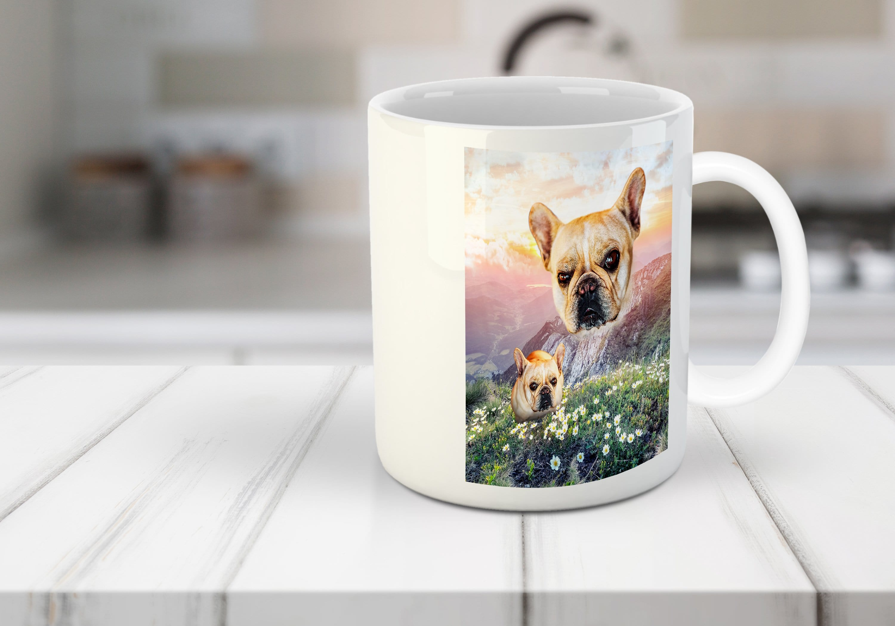 'Majestic Mountain Valley' Personalized Mug