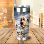 Majestic Snowy Mountain Personalized Tumbler