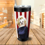 'Marilyn Monpaw' Personalized Tumbler