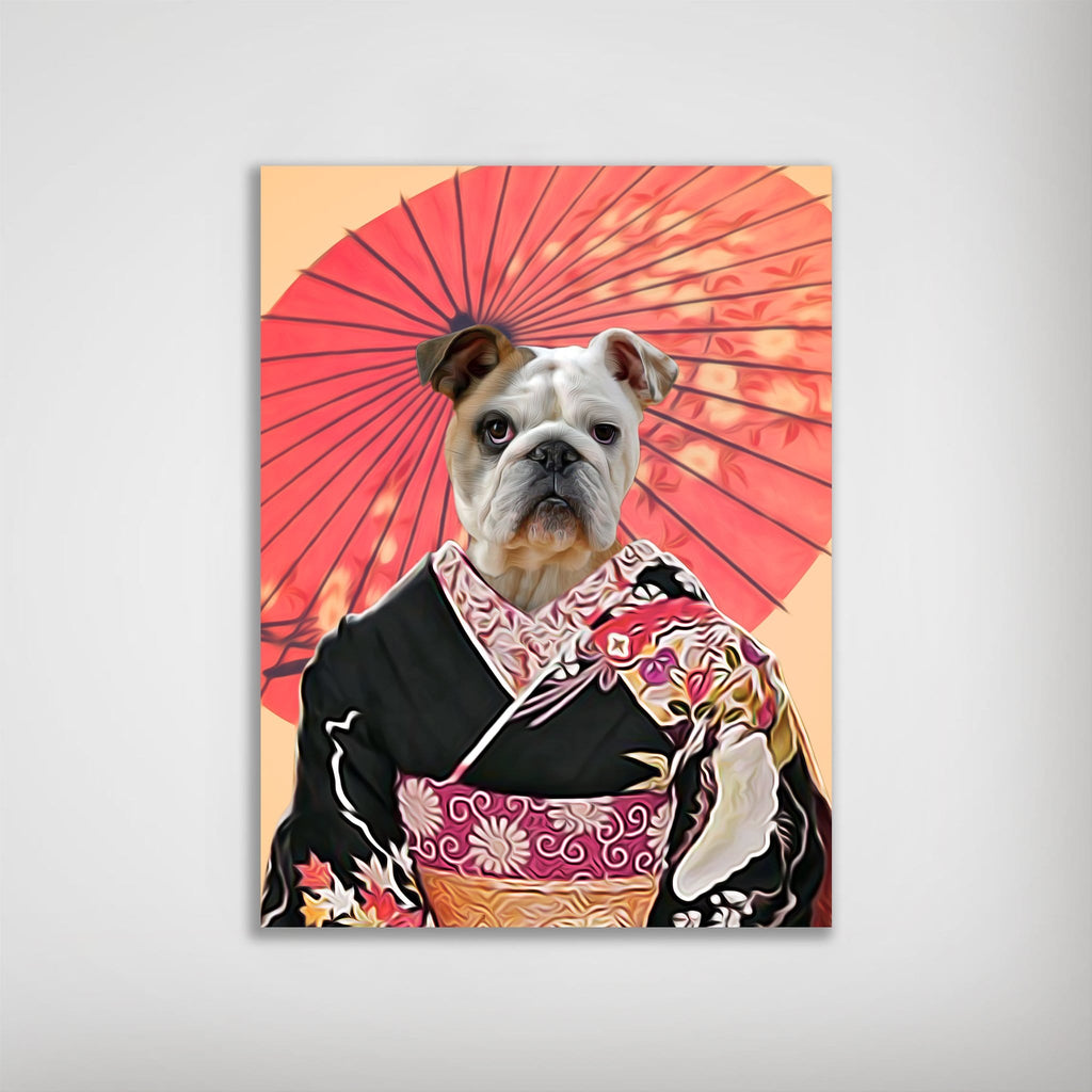 Memoirs of A Doggeisha: Personalized Dog Poster