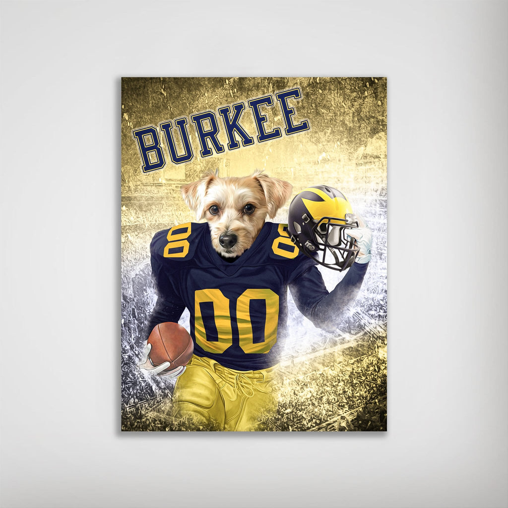 'Michigan Doggos' Personalized Dog Poster