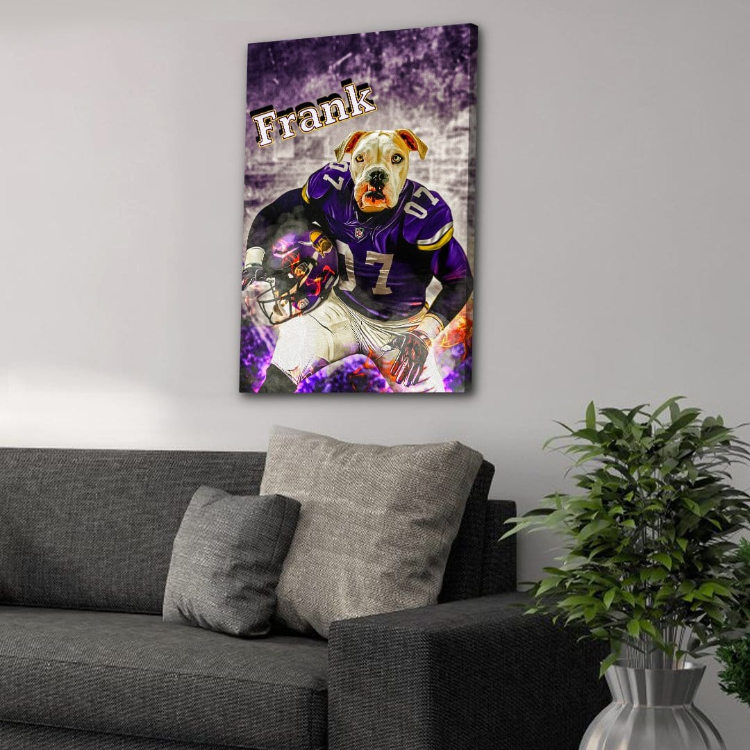 'Minnesota Doggos' Personalized Pet Canvas