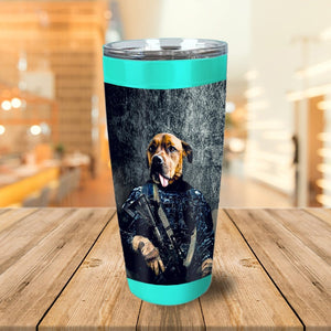 'The Navy Veteran' Personalized Tumbler