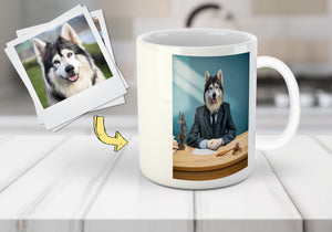 'The Lawyer' Custom Pet Mug