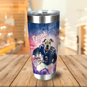 'New England Doggos' Personalized Tumbler