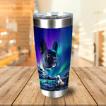 Majestic Northern Lights Personalized Tumbler