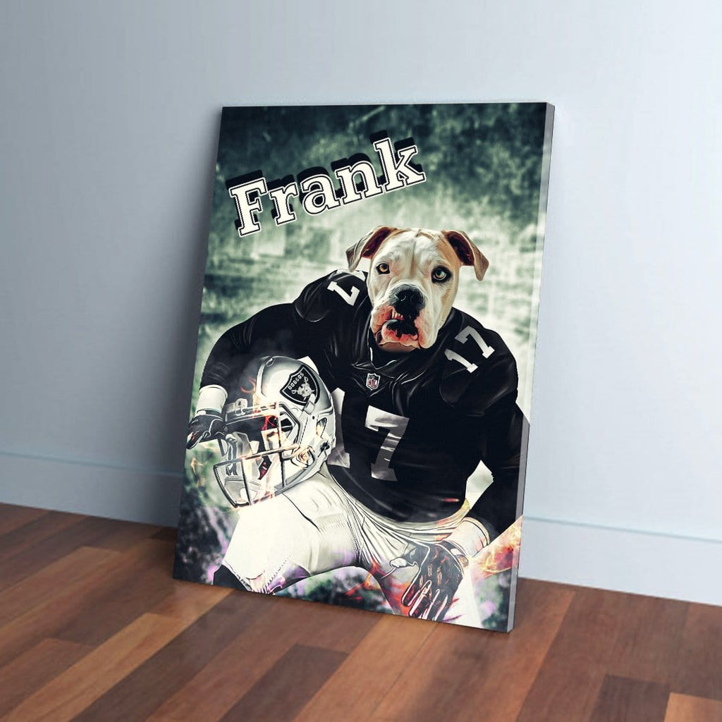 'Oakland Doggos' Personalized Pet Canvas
