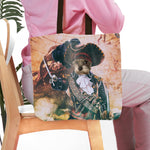 'The Pirate' Personalized Tote Bag