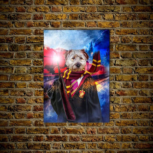 'Harry Dogger' Personalized Dog Poster