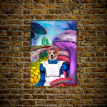 Alice in Doggoland: Personalized Dog Poster
