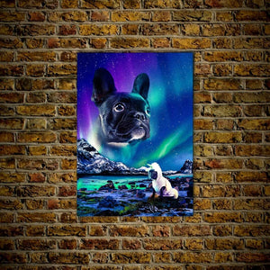 'Majestic Northern Lights' Personalized Posters