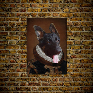 The Duke: Personalized Dog Posters