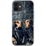 'The Navy Veterans' Personalized 2 Pet Phone Case