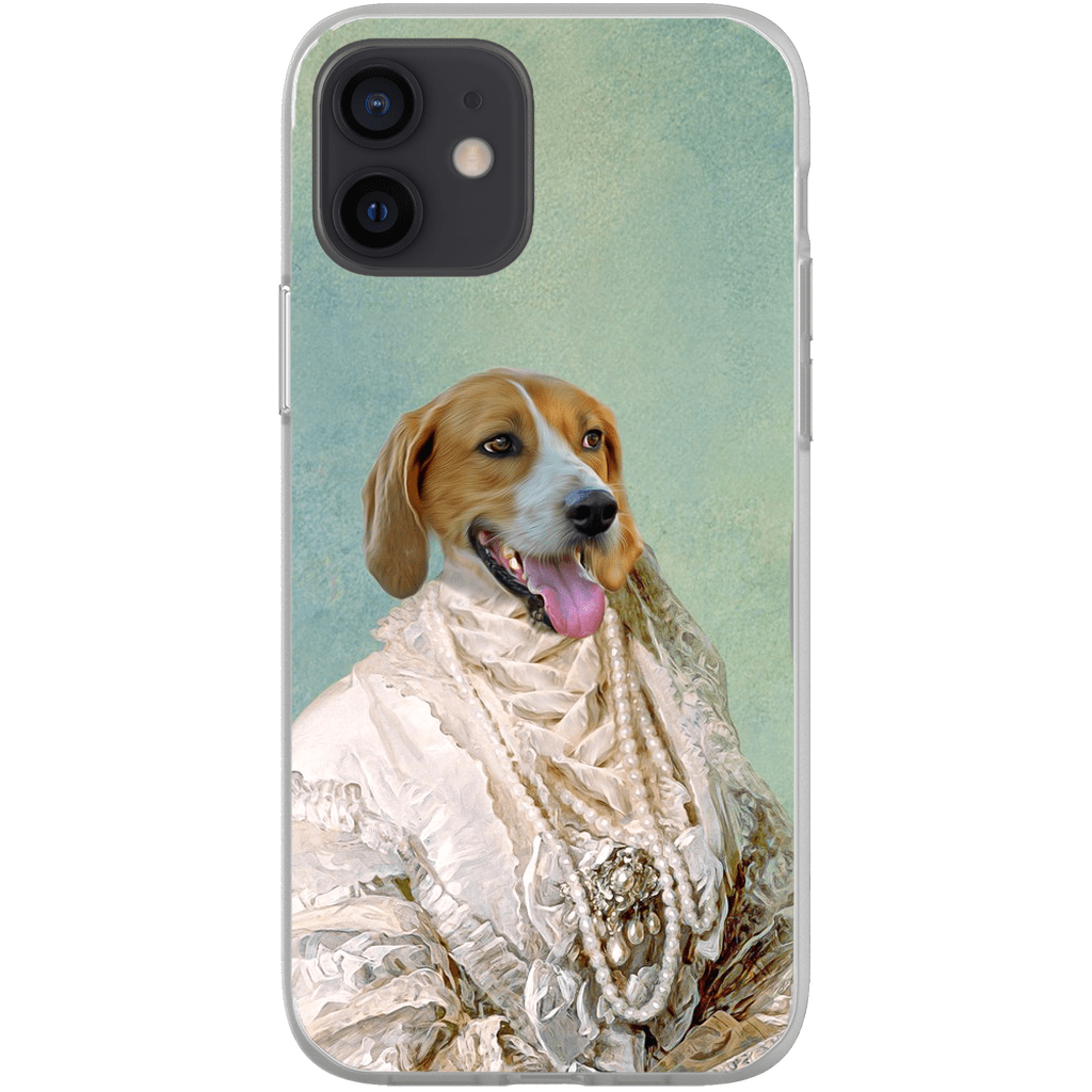 'The Pearled Dame' Personalized Phone Case