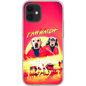'Paw Watch 1991' Personalized 2 Pet Phone Case