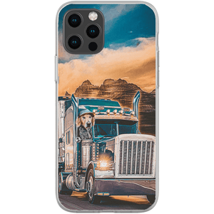 'The Trucker' Personalized Phone Case