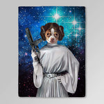 'Princess Leidown' Personalized Pet Blanket