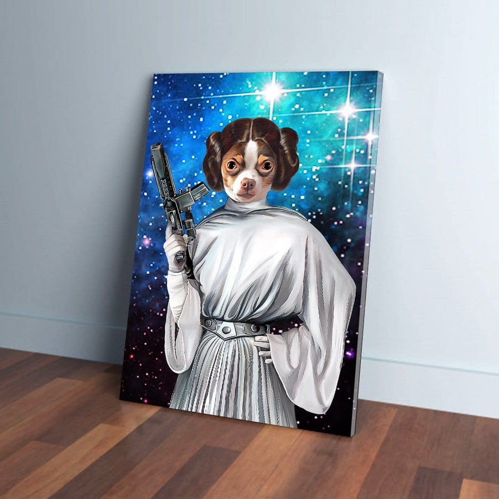 'Princess Leidown' Personalized Pet Canvas