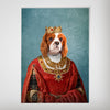'The Queen' Personalized Dog Poster