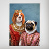 Queen and Archduchess: Personalized 2 Pet Poster
