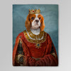 'The Queen' Personalized Pet Blanket